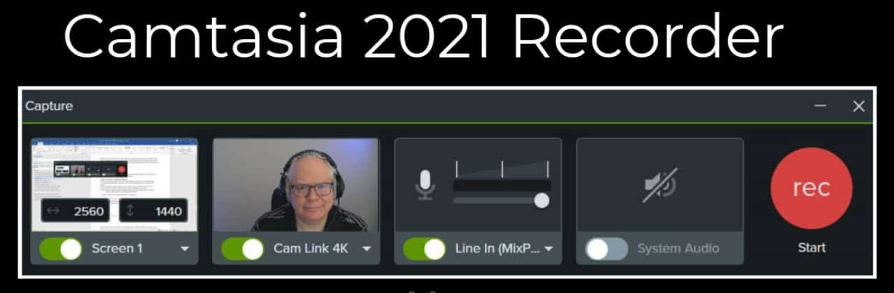 Camtasia 2021 Recorder